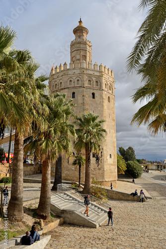 The Gold Tower (La Torre del Oro) Sevilla, Spain