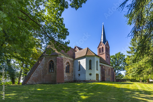 church of Krummin at the island of Usedom