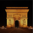 Arc de Triomphe, Night