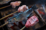 japanese traditional  barbecue grill