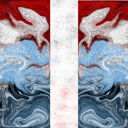 colorful patterns abstraction - raster graphics - 187929172
