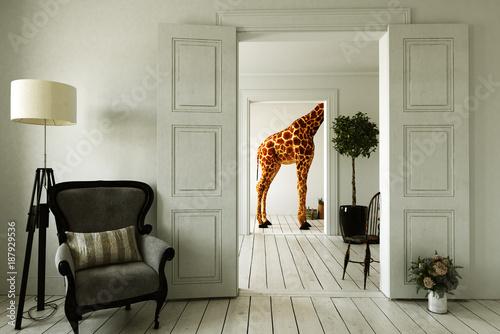 Apartament Giraffe z kilkoma pokojami