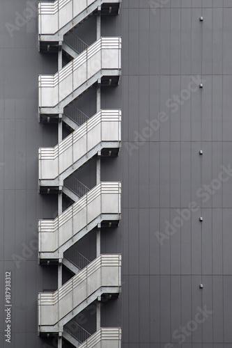 Poster Tokio Modern building