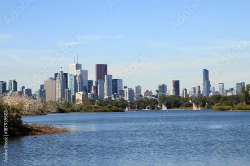 Foto Murales View on Toronto downtown
