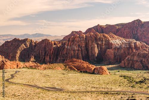 Staande foto Diepbruine American Southwest