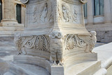 Detail of academy of Athens in Greece. - 187965716