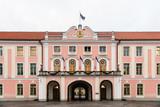 Main facade of the Parliament of Estonia