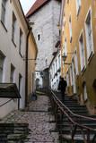 Narrow street in Tallinn old town