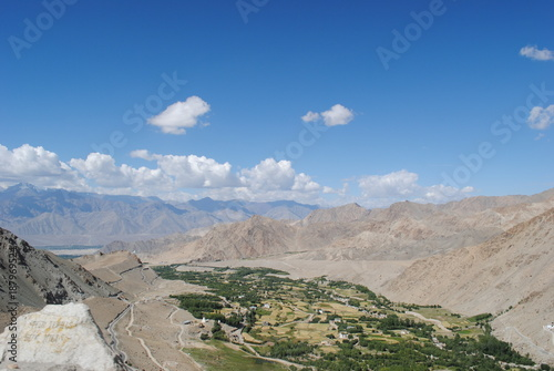 Poster Donkergrijs Ladakh