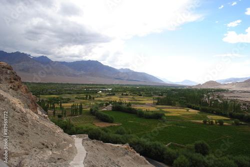 Fotobehang Wit Ladakh