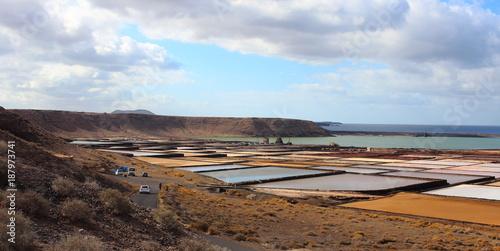 Fotobehang Pool Lanzarote