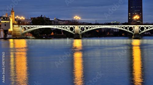 The Triana's Bridge - Seville, Spain