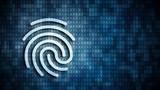 Fingerabdruck im digitalen Umfeld