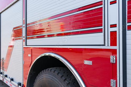kąt widzenia wóz strażacki
