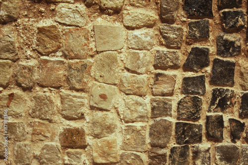 In de dag Stenen Square Shaped Rough Wall Texture
