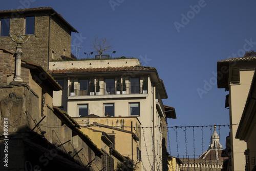 Papiers peints Florence Ponte vecchio christmas