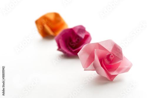Three sppring origami flowers buy photos ap images detailview three sppring origami flowers mightylinksfo