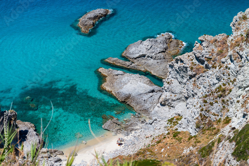 Foto Murales Beautiful aerial view of Calabria coastline - Italy in summer