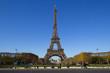 Eiffel Tower in Paris in Autumn