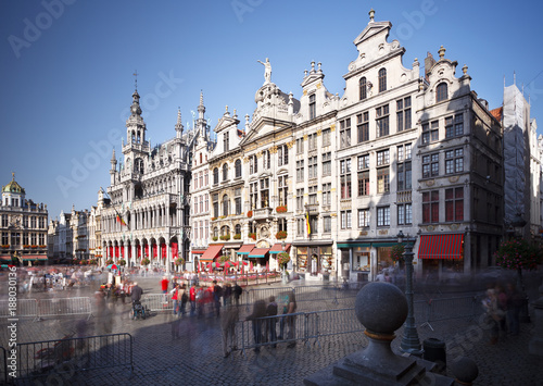 Fotobehang Brussel Grand Place In Brussels