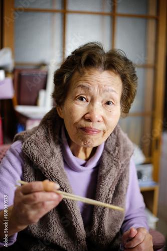 Foto Murales 日本人高齢者,ライフスタイル