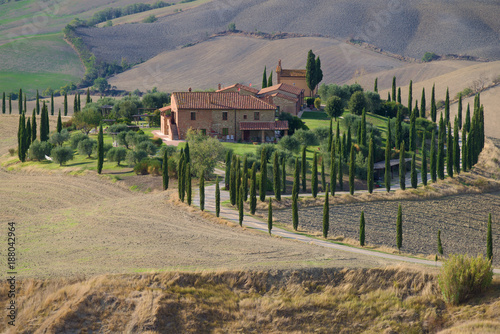 Foto Murales Rural homestead on a warm September day, Italy