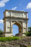The Arch of Titus, Forum Romanum, Rome, Italy