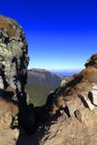Poland, Tatra Mountains, Zakopane - Wysokie Wrotka and Wysoka Czuba peaks, Giewont and Wielki Uplaz peaks in background