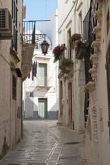 Alleyway. Martina Franca. Puglia. Italy.  © Mi.Ti.