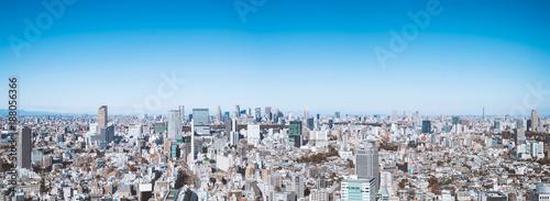 Poster Tokio Panoramic Tokyo Skyline