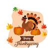 Happy thanksgiving day design