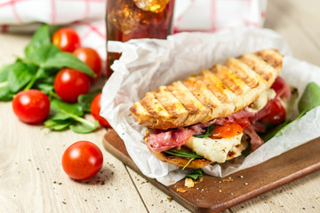 Hot panini