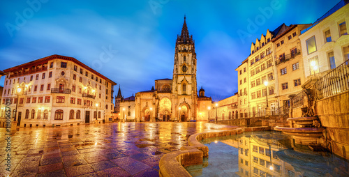 The Cathedral of Oviedo