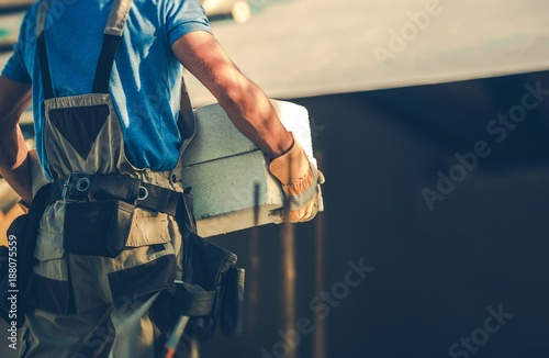 Construction Site Contractor - 188075559