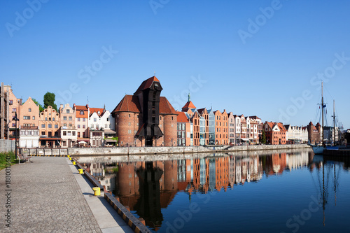Foto Murales Old Town of Gdansk in Poland