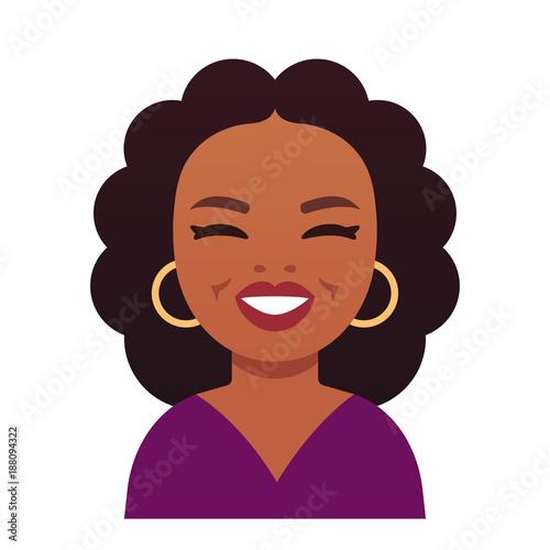 Oprah Winfrey cartoon portrait - 188094322