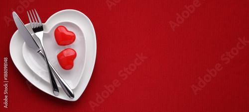 Foto op Aluminium Kasteel Valentines day concept