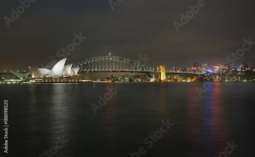 Foto op Canvas Sydney Sydney city view