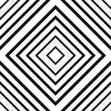 Black and white linear checkered seamless pattern. Geometric background with linear squares. Basic modern background for design, website, cards, wrapping paper. Vector illustration. - 188120949