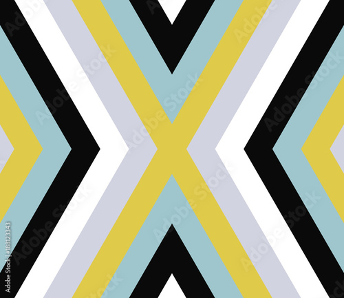 Seamless abstract background with rhombuses. Infinity geometric pattern.  Seamless geometric pattern. Vector illustration. - 188123343