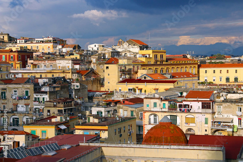 Fotobehang Napels Naples old town, Italy