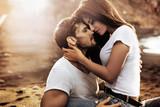 Handsome man hugging his sensual girlfriend - 188141377