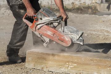 machine pour découper la pierre