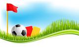 Vector background for football soccer sport - 188147786