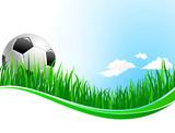 Vector background for football soccer sport