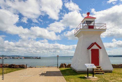 Lighthouse in town  center of Digby Poster