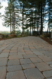 Garden Stone Brick Paver Walking Path