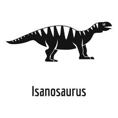 Isanosaurus icon. Simple illustration of isanosaurus vector icon for web.