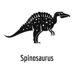 Spinosaurus icon. Simple illustration of spinosaurus vector icon for web.