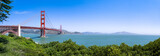 San Francisco Golden Gate Bridge Panorama als Hintergrund